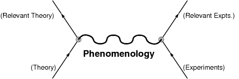 Phenomenology is the link